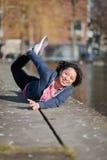 Woman urban sport exercising Stock Photography