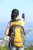Woman use smart phone Royalty Free Stock Photo