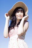 Woman On Vacation Royalty Free Stock Photography