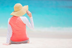 Woman at vacation Royalty Free Stock Photography