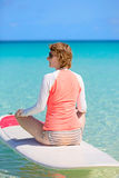 Woman at vacation Royalty Free Stock Photos