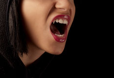 Woman vampire Royalty Free Stock Photo