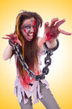 Woman vampire  Royalty Free Stock Photo