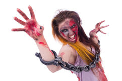 Woman vampire Royalty Free Stock Images