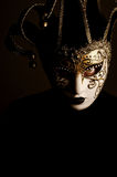Woman with Venice mask Royalty Free Stock Photography
