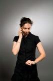 Woman Waiting Stock Photography