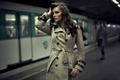 Free Woman Waiting For Someone Royalty Free Stock Photo - 36073865