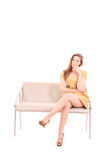 woman waiting for love Royalty Free Stock Image