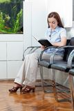 Woman In Waiting Room Stock Photos