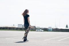 Woman walk Stock Photography