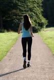 Woman walking Royalty Free Stock Image