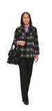 Woman walking royalty free stock images