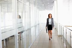Woman walking Royalty Free Stock Photo
