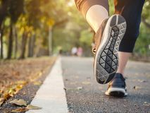 Free Woman Walking In Park Outdoor Workout Trail Exercise Healthy Lifestyle Stock Photos - 152096723