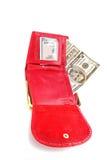 Woman wallet Stock Photos