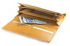 Woman Wallet Royalty Free Stock Photo