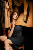 Woman wardrobe Royalty Free Stock Photos