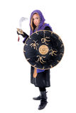 Woman warrior Royalty Free Stock Photo