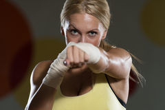Woman Warrior Stock Image