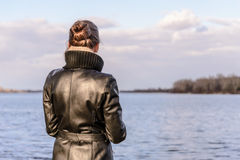 Woman Watching Stock Images