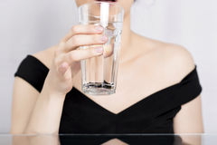 Woman water Royalty Free Stock Photography