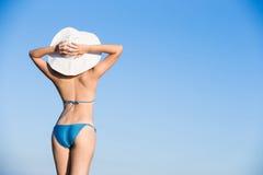 Woman wear bikini Royalty Free Stock Image