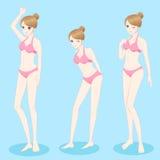 Woman wear bikini Stock Photo