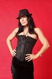 Woman wearing a corset Royalty Free Stock Photo