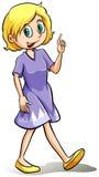 Woman wearing a dress Royalty Free Stock Photo