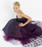 Woman Wearing Formal Dress Royalty Free Stock Photo