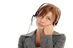 Free Woman Wearing Headset Stock Image - 11133631