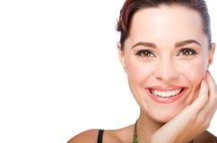 Woman wearing makeup Royalty Free Stock Photo