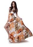 Woman wearing a summer dress Royalty Free Stock Photo