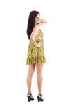 Woman wearing a summer dress Royalty Free Stock Photos