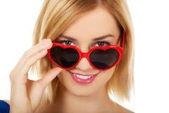 Woman wearing sunglasses. Stock Photo