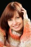 Woman wearing sweater Royalty Free Stock Image
