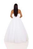 Woman wedding dress Royalty Free Stock Image