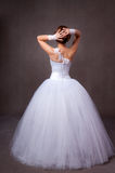 Woman in a wedding dress Royalty Free Stock Photos