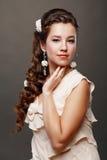 Woman Wedding Model Royalty Free Stock Photo