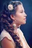 Woman Wedding Model Royalty Free Stock Image