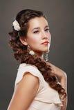 Woman Wedding Model Stock Images
