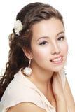 Woman Wedding Model Stock Photography