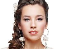 Woman Wedding Model Royalty Free Stock Photos