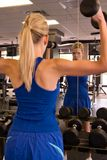 Woman Weightlifter 12 Stock Photo