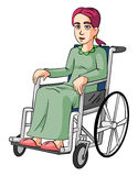 Woman Wheelchairs Royalty Free Stock Photos