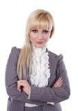 woman on a white bg Stock Photo