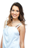 A woman in a white dress Royalty Free Stock Photo