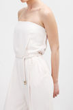 Woman in White Dresses Stock Images
