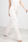 Woman in White Dresses Stock Photo