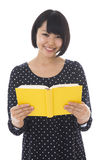 Woman who reads a book Royalty Free Stock Photography